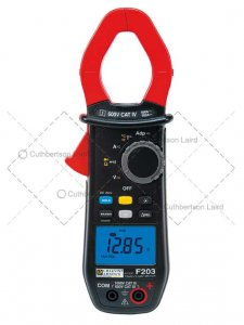 chauvin-f203-clampmeter
