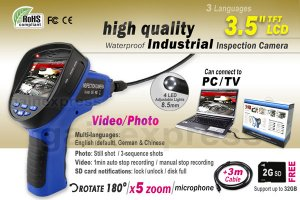 cia370-3-5-endoscope-borescope-8-5mm-dia-scope-video-sound-recording-2g-sd-card-4m