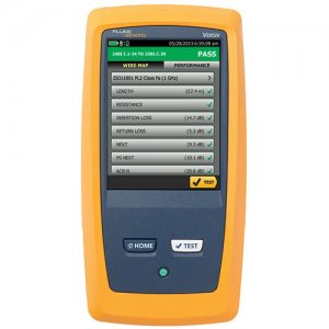 fluke-dsx-5000qoi-1-ghz-dsx-series-cable-analyzer-with-olts-quad-otdr-quad-and-fiber-inspection
